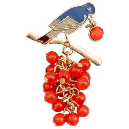 Фото - OTOKODESIGN Брошь Птичка с ягодками 50730 otokodesign брошь жемчуг с цепочкой 50869