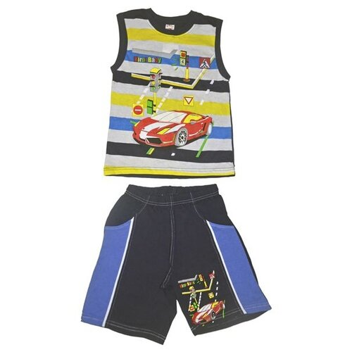 Комплект одежды Kirpi размер 110, черный