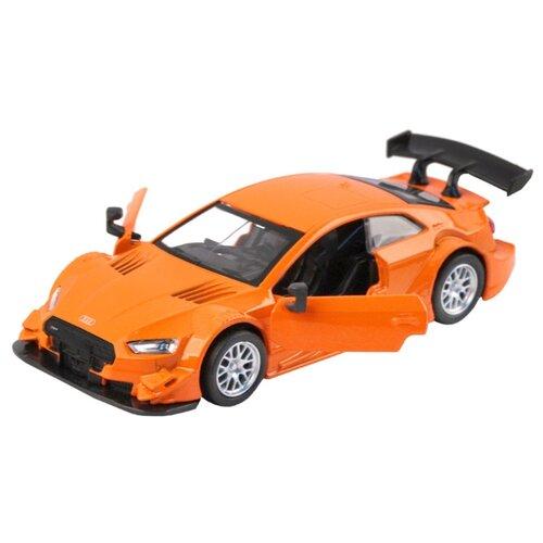 Купить Легковой автомобиль Автопанорама Audi RS 5 DTM (JB1200183) 1:43 оранжевый, Машинки и техника