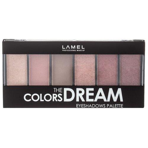 Lamel Professional Палетка теней The Colors Dream 605