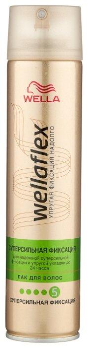 Wella Лак для волос Wellaflex Суперсильная фиксация, экстрасильная фиксация