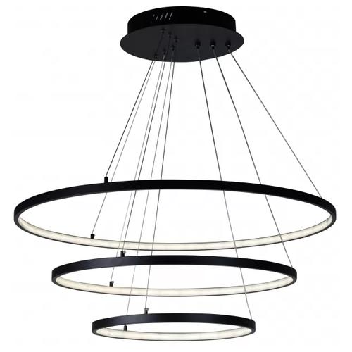 Люстра светодиодная iLedex Axis D098-3 BK, 120 Вт, цвет арматуры: черный люстра светодиодная iledex clover 6885 4 bk 48 вт