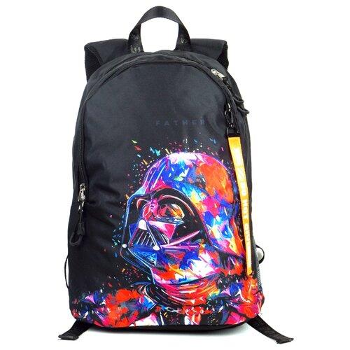 ufo people рюкзак школьный цвет черный 7227 Рюкзак Ufo People 9942 18 черный