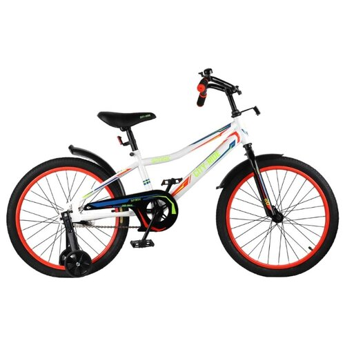 цена на Детский велосипед CITY-RIDE Spark 20 (CR-B2-0220) белый (требует финальной сборки)