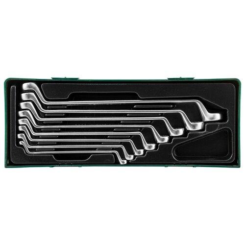 Набор гаечных ключей JONNESWAY (8 предм.) W23108ST черный 2 полотно рихтовочное jonnesway ag010024 2