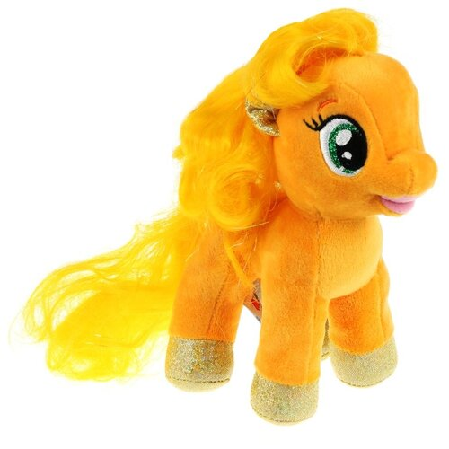 Игрушка мягкая Мой маленький пони эпплджек, 18см, без чипа, в пак. Мульти-пульти недорого