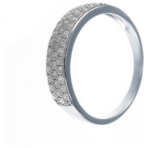 JV Кольцо с 43 бриллиантами из белого золота AAS-4048R-KO-WG, размер 18