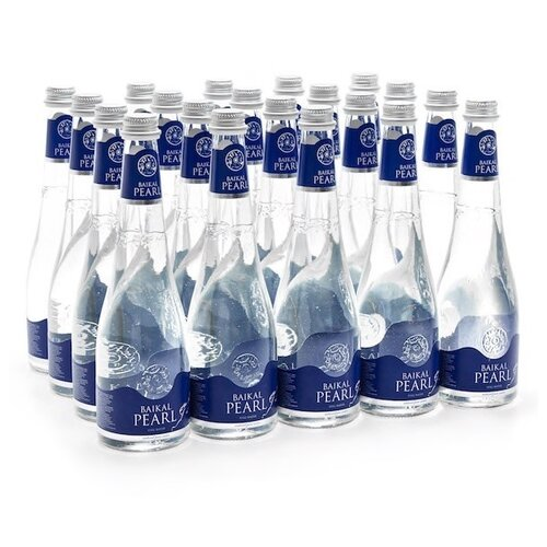 Природная вода Baikal Pearl (Жемчужина Байкала) негазированная, стекло, 20 шт. по 0.53 л недорого