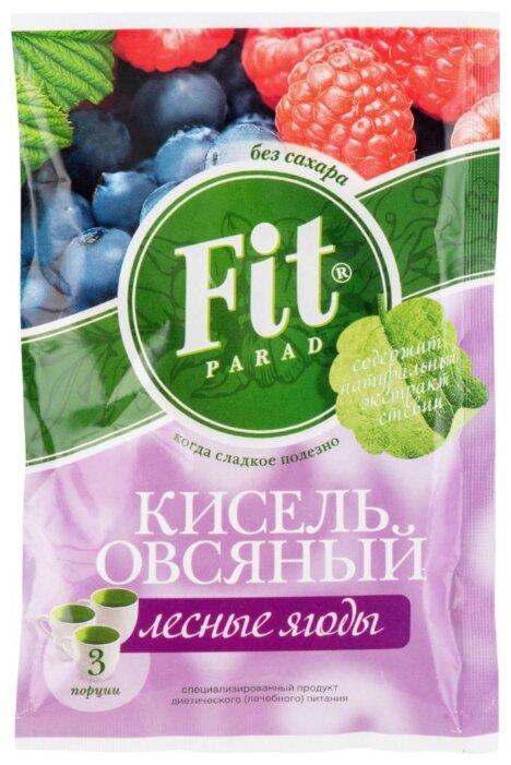 Fit Parad Кисель овсяный Лесные ягоды, 50 г
