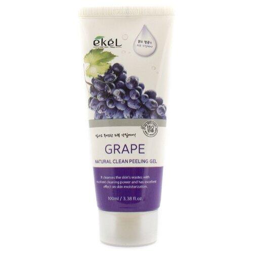 Ekel Пилинг-скатка Natural Clean Peeling Gel Grape с экстрактом винограда 100 мл