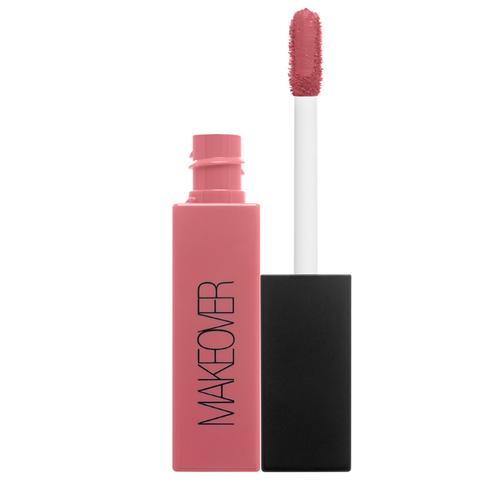 MAKEOVER жидкая помада для губ Soft Matte Lip Cream ультраматовая, оттенок Push Up недорого