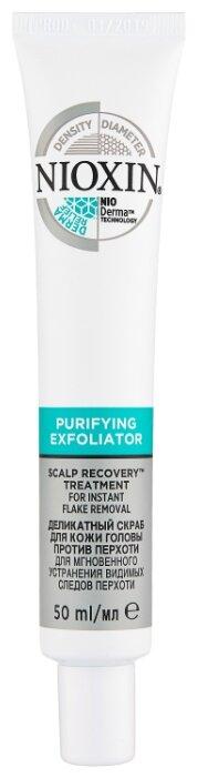 Nioxin Scalp Recovery Деликатный скраб для кожи головы против перхоти