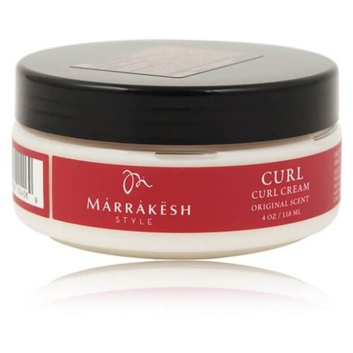 Marrakesh Крем для фиксации локонов Styling Curl Cream, средняя фиксация, 118 мл chi luxury black seed oil curl defining cream gel