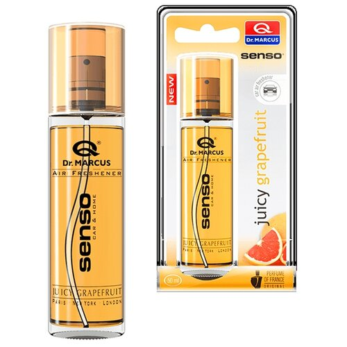 Dr. Marcus Ароматизатор для автомобиля Senso Spray Juicy Grapefruit 50 мл недорого