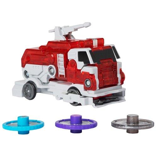 Интерактивная игрушка трансформер РОСМЭН Дикие Скричеры. Линейка 2. Пирозавр (34830) красный/синий интерактивная игрушка трансформер росмэн дикие скричеры линейка 2 манкиренч 34825 красный