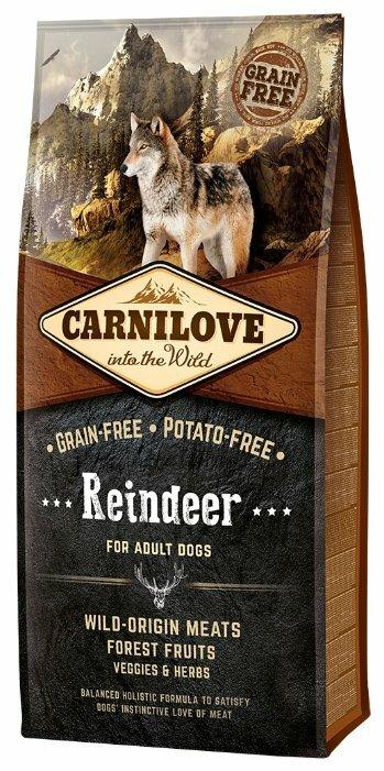 Корм для собак Carnilove Reindeer for adult dogs