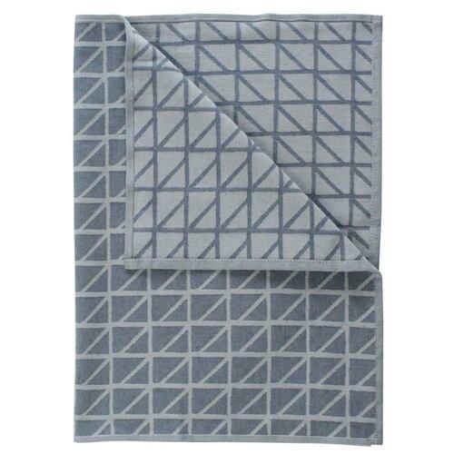 TKANO полотенце Cuts&Pieces Twist кухонное 45х70 см темно-синий