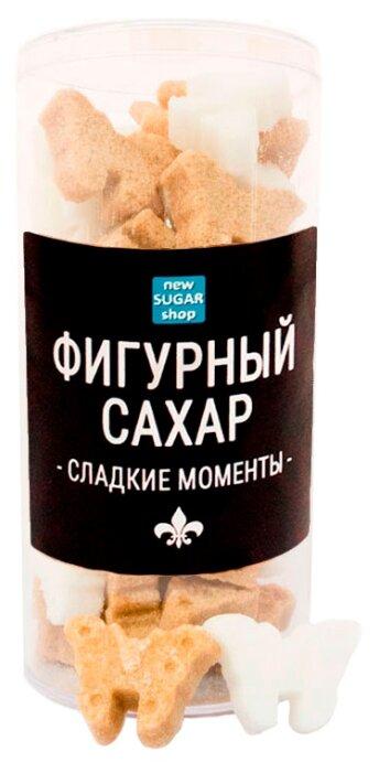 Сахар New SUGAR shop фигурный Сладкие моменты Бабочки сахарные тростниковые и белые 0.13 кг