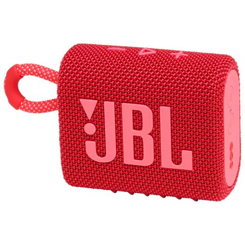 Портативная акустика JBL GO 3, red портативная акустика jbl go 3 white