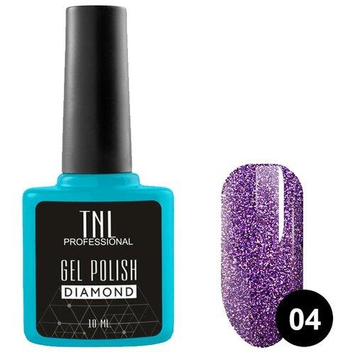Купить Гель-лак для ногтей TNL Professional Diamond, 10 мл, оттенок №04 Аметист