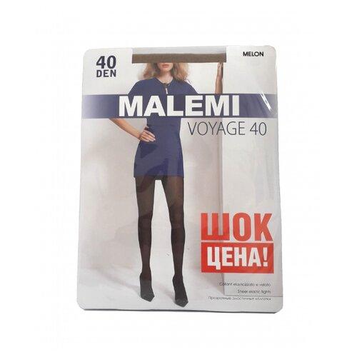 Колготки Malemi Voyage, 40 den, размер IV, melon (бежевый) колготки malemi voyage 20 nero