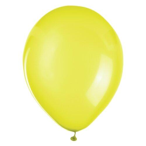 Набор воздушных шаров ZIPPY латекс 25 см (50 шт.) желтый
