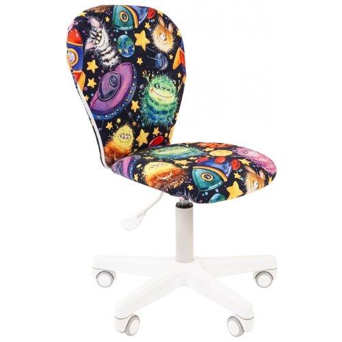 Компьютерное кресло Chairman Kids 105 детское, обивка: текстиль, цвет: нло chairman кресло chairman kids 105 нло белый