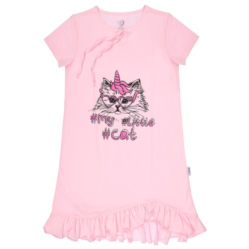 Купить Сорочка RuZ Kids размер 122-128, розовый, Домашняя одежда