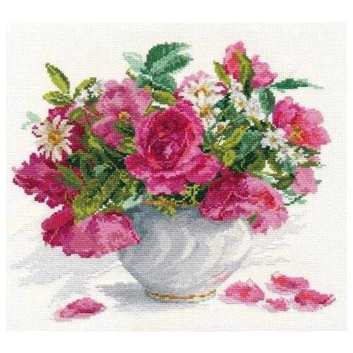 Купить Алиса Набор для вышивания Цветущий сад. Розы и ромашки 26 х 30 см (2-25), Наборы для вышивания