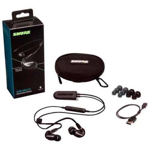 Беспроводные наушники Shure SE215 Wireless (BT2) black  - купить со скидкой
