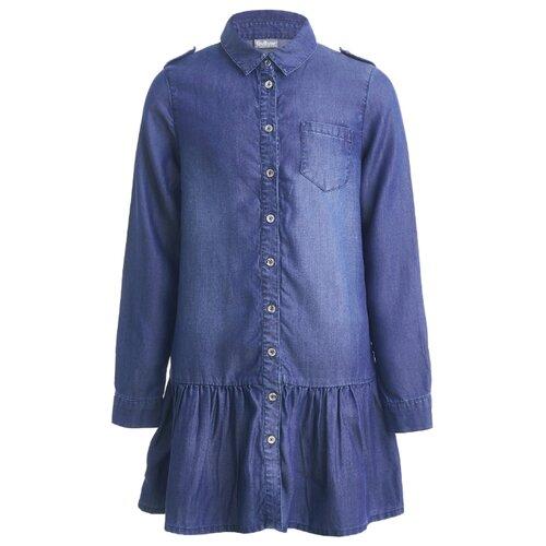 Платье Gulliver размер 140, синий