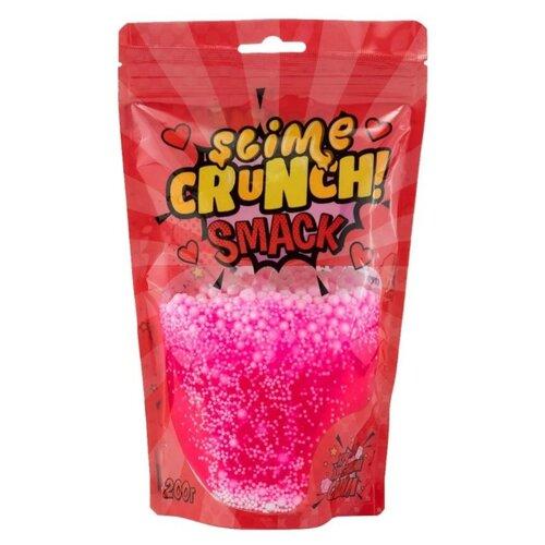Лизун SLIME Crunch Smack с ароматом земляники (S130-25) розовый