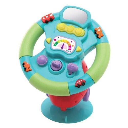 Купить Развивающая игрушка Жирафики Руль голубой/зеленый/красный, Развивающие игрушки