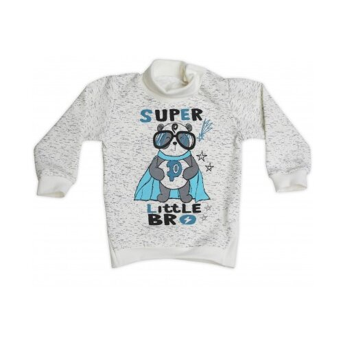 Свитшот Babyglory размер 92, белый джемпер для новорожденных babyglory superstar цвет синий ss001 09 размер 92