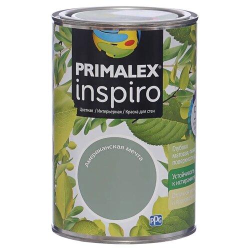 Краска PRIMALEX Inspiro моющаяся матовая американская мечта 1 л