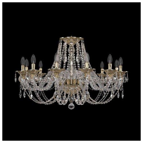 Люстра Bohemia Ivele Crystal Ivele Crystal 16106/12/300 G, E14, 480 Вт абажур bohemia ivele sh22
