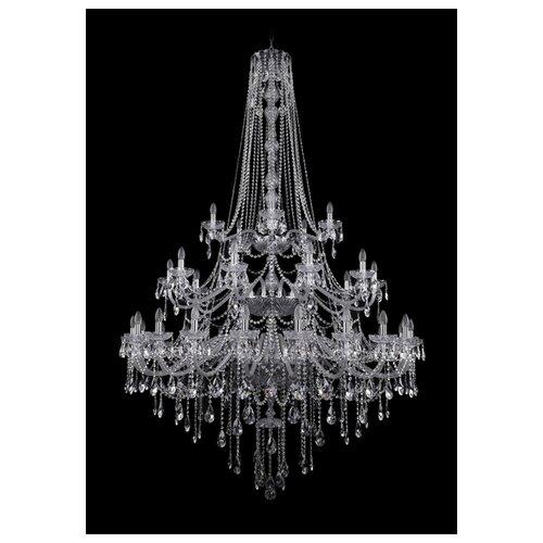 Фото - Люстра Bohemia Ivele Crystal 1415 1415/20+10+5/530/h-231/3d/Ni, E14, 1400 Вт люстра bohemia ivele crystal 1415 1415 20 10 5 400 xl 180 3d g e14 1400 вт