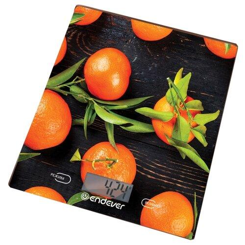 Кухонные весы ENDEVER Chief-504 черный/оранжевый