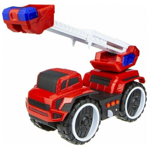Купить Пожарный автомобиль 1 TOY Экстренные службы (Т16947) 20 см красный, Машинки и техника
