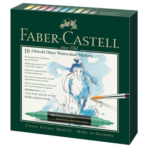 Купить Faber-Castell Набор маркеров Albrecht Dürer (160310) 10шт., Фломастеры и маркеры