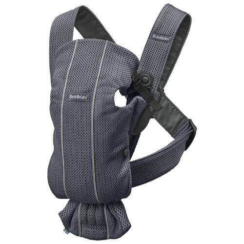Купить Рюкзак-переноска Baby Bjorn Mini anthracite, Рюкзаки и сумки-кенгуру