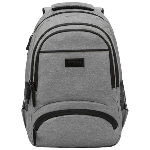 Рюкзак Grizzly RU-035-1/6 17.5 (серый) рюкзак городской grizzly цвет серый 25 л ru 614 1 4