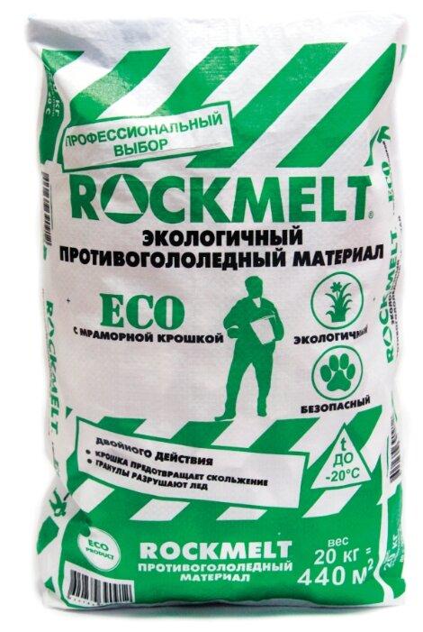 Противогололедный реагент Rockmelt ECO c мраморной крошкой
