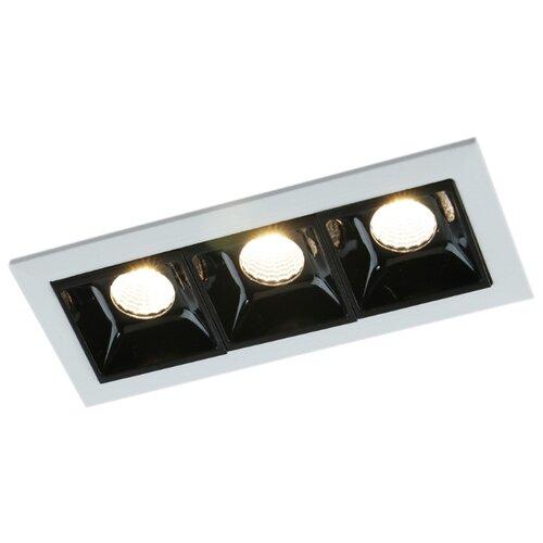 Встраиваемый светильник Arte Lamp Grill A3153PL-3BK встраиваемый светодиодный светильник artelamp a3153pl 3bk