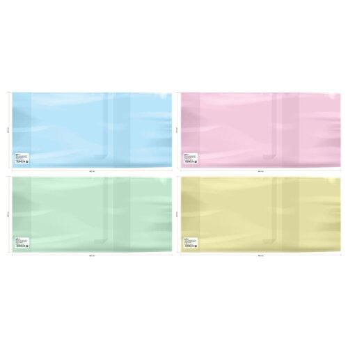 Купить ArtSpace Набор обложек для дневников, учебников, рабочих тетрадей и прописей 220х460 мм, 200 мкм, 50 штук ассорти, Обложки