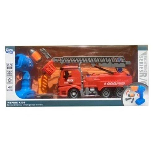 Купить Винтовой конструктор Xinda Toys Engineering R/C BS-R5 Пожарная машина, Конструкторы