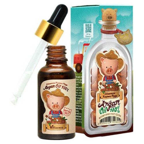 Elizavecca Farmer Piggy Argan Oil 100% Сыворотка для лица с аргановым маслом, 30 мл elizavecca farmer piggy argan oil 100% сыворотка для лица с аргановым маслом 30 мл