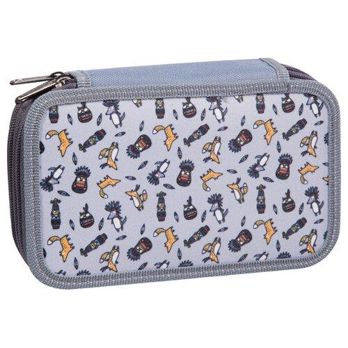 Купить ArtSpace Пенал Cute foxy (П25_3_23141) серый, Пеналы
