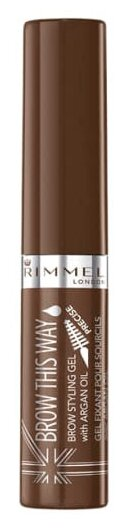 Rimmel гель для бровей Brow This Way