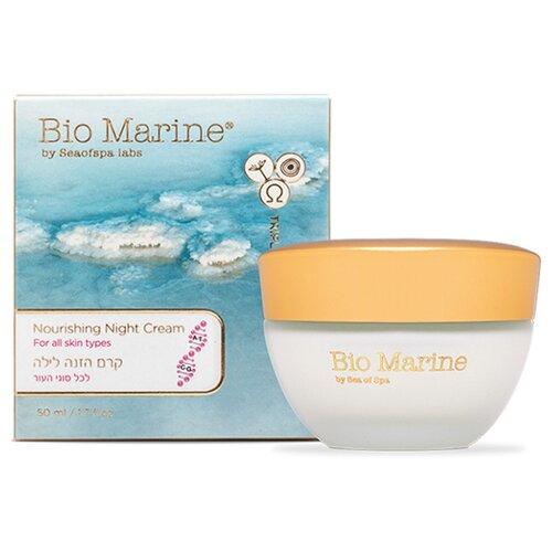 Bio Marine Nourishing Night Cream Питательный ночной крем для ухода за кожей лица всех типов, 50 мл лосьон для тела bio marine wild orchid 180 мл